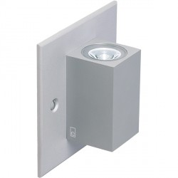 Collingwood Lighting MC025 S NW Straight To Mains Up/Down Mini Led Cube Wall Light Neutral White