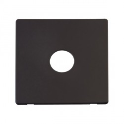 Click Definity SCP221BK 1 Gang Toggle Switch Cover Plate in Black