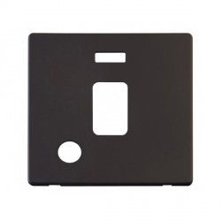Click Definity SCP323BK 20A DP Switch with Flex Outlet and Neon Cover Plate in Black