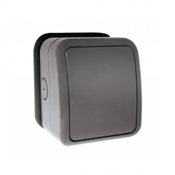 Click Aquip66 1 Gang Weatherproof Switch Enclosure Only