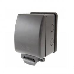 Click Aquip66 1 Gang Weatherproof Unfurnished Socket Enclosure