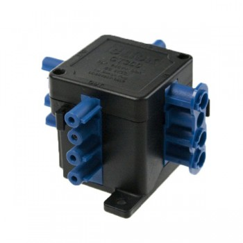 Click Flow 250V 20amp 1 in 3 out Connection Hub