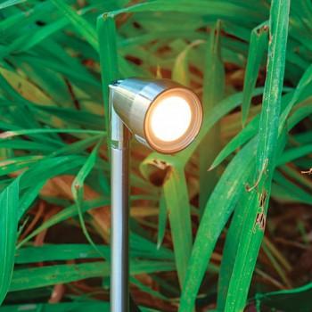 Collingwood Lighting SL030 F AMBER 1W Stainless Steel Amber LED Spike Light