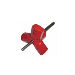Armeg EBS.ROUND.SET Tri-Cut Round Cutter with SDS+ Adaptor