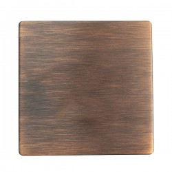 Hamilton Sheer CFX Copper Bronze Single Blank Plate