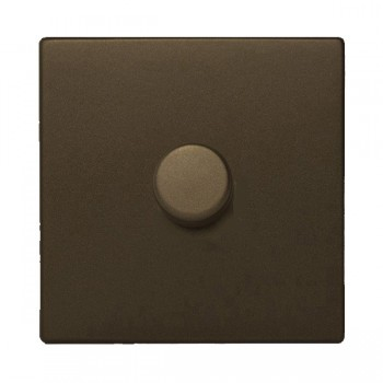 Hamilton Sheer CFX Richmond Bronze 1 gang 300VA 2 Way Leading Edge Push On/Off Inductive Dimmer