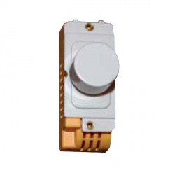 Hamilton Grid Fix Dimmer Module 2 Way 400W with White Insert