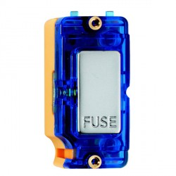 Hamilton Grid Fix Insert 13A Fuse + Blue Neon Pearl Oyster with Blue Insert