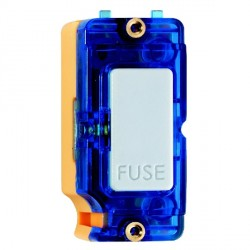 Hamilton Grid Fix Insert 13A Fuse + Blue Neon White with Blue Insert