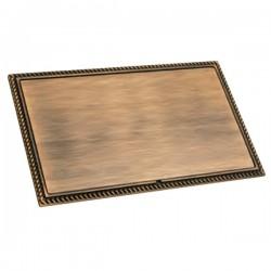 Hamilton Linea-Georgian CFX Copper Bronze with Copper Bronze Frame Double Blank Plate