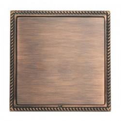 Hamilton Linea-Georgian CFX Copper Bronze with Copper Bronze Frame Single Blank Plate