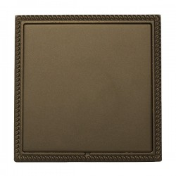 Hamilton Linea-Georgian CFX Richmond Bronze with Richmond Bronze Frame Single Blank Plate