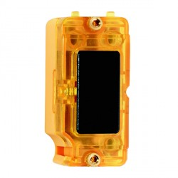 Hamilton Grid Fix Insert Amber Neon Black with Amber Insert