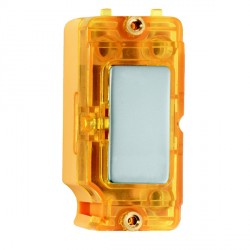 Hamilton Grid Fix Insert Amber Neon Pearl Oyster with Amber Insert