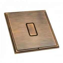Hamilton Linea-Perlina CFX Copper Bronze with Copper Bronze Frame 1 gang 250W/210VA Multi-Way Touch Master Trailing Edge Dimmer