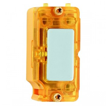 Hamilton Grid Fix Insert Amber Neon White with Amber Insert