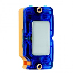 Hamilton Grid Fix Insert Blue Neon Pearl Oyster with Blue Insert
