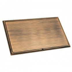 Hamilton Linea-Perlina CFX Copper Bronze with Copper Bronze Frame Double Blank Plate
