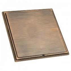 Hamilton Linea-Perlina CFX Copper Bronze with Copper Bronze Frame Single Blank Plate