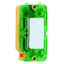 Hamilton Grid Fix Insert Green Neon Bright Chrome with Green Insert