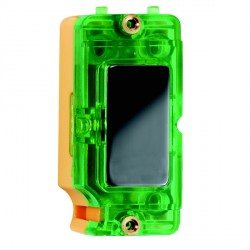 Hamilton Grid Fix Insert Green Neon Black Nickel with Green Insert