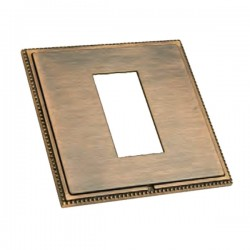 Hamilton Linea-Perlina CFX Copper Bronze with Copper Bronze Frame Single Plate complete with 1 EuroFix Aperture 25x50mm and Grid