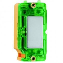 Hamilton Grid Fix Insert Green Neon Pearl Oyster with Green Insert