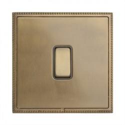 Hamilton Linea-Perlina CFX Connaught Bronze with Connaught Bronze Frame 1 gang 10AX 2 Way Rocker