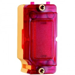 Hamilton Grid Fix Insert Red Neon with Red Insert