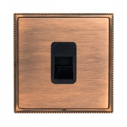 Hamilton Linea-Perlina CFX Copper Bronze with Copper Bronze Frame 1 gang Telephone Slave