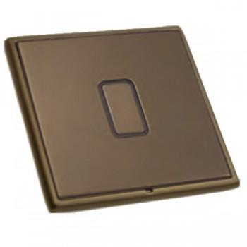 Hamilton Linea-Rondo CFX Richmond Bronze with Richmond Bronze Frame 1 gang Multi-Way Touch Slave Controller Trailing Edge