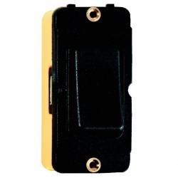 Hamilton Grid Fix Insert Rocker 2 Way 10AX Black/Black with Black Insert