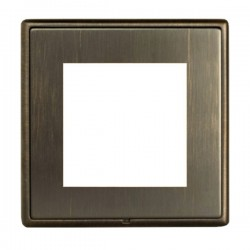 Hamilton Linea-Rondo CFX Richmond Bronze with Richmond Bronze Frame Single Plate complete with 2 EuroFix Apertures 50x50mm and Grid