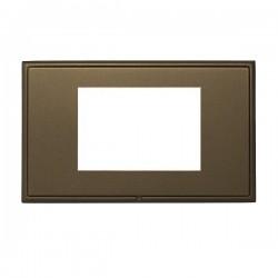Hamilton Linea-Rondo CFX Richmond Bronze with Richmond Bronze Frame Double Plate complete with 3 EuroFix Apertures 75x50mm and Grid