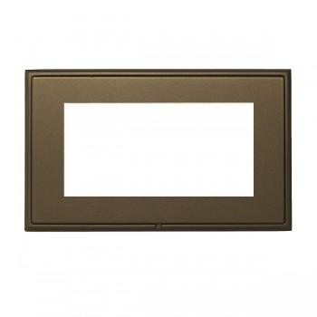 Hamilton Linea-Rondo CFX Richmond Bronze with Richmond Bronze Frame Double Plate complete with 4 EuroFix Apertures 100x50mm and Grid