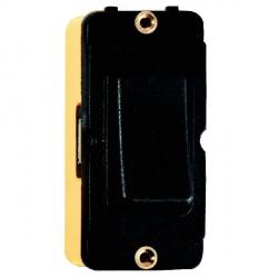 Hamilton Grid Fix Insert Rocker 2 Way 20AX Black/Black with Black Insert