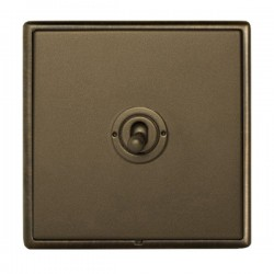 Hamilton Linea-Rondo CFX Richmond Bronze with Richmond Bronze Frame 1 gang 20AX Intermediate Toggle