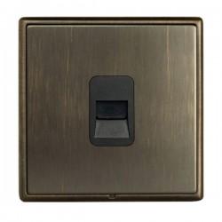 Hamilton Linea-Rondo CFX Richmond Bronze with Richmond Bronze Frame 1 gang Telephone Master