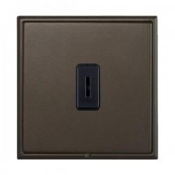 Hamilton Linea-Scala CFX Richmond Bronze with Richmond Bronze Frame 1 gang 20AX 2 Way Key Switch