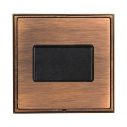 Hamilton Linea-Scala CFX Copper Bronze with Copper Bronze Frame 1 gang 10A Triple Pole Rocker