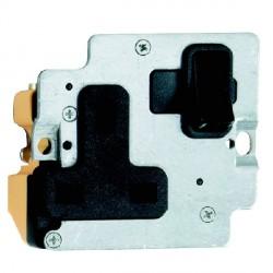 Hamilton Grid Fix Insert 1 Gang 13A Switched Socket Black/Black with Black Insert