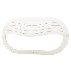 Ansell White Eyelid Cover for Sorrento Bulkhead