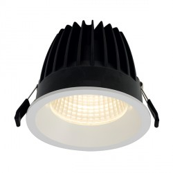 Ansell Unity 150 33W Cool White Non-Dimmable Fixed White LED Downlight with Emergency Backup