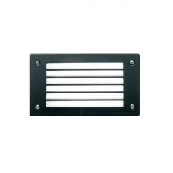 Fumagalli 4C2.G54.AY.LEDC 230V Cool White LED LETI Flush 200 Bricklight with Horizontal Grill