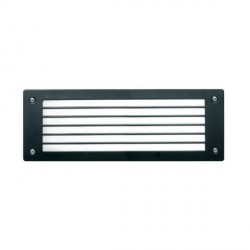 Fumagalli 5C2.G54.AY.LEDC 230V Cool White LED LETI Flush 300 Bricklight with Horizontal Grill
