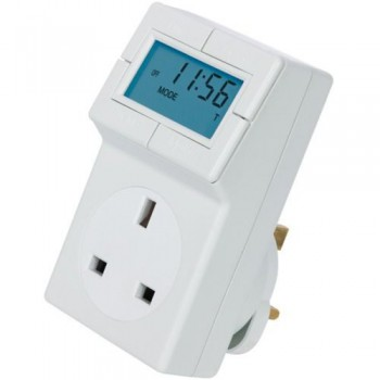 Timeguard TRT05 Electronic Plug-in Thermostat with 24 Hour Time Control