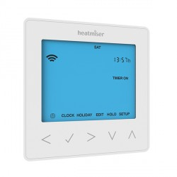 Heatmiser neoStat-hw Smartphone Controlled Programmable Hot Water Thermostat in White