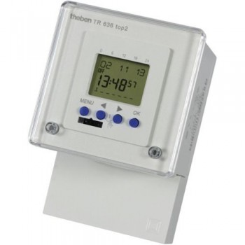 Timeguard TR 636 top2 24 hour/7 Day 2 channel/ pulse 2x6A Digital Timeswitch