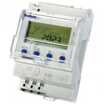 Timeguard TR 641 top2 24 Hour/7 Day/Yearly Single Channel [3 Module] 16 A Digital Timeswitch