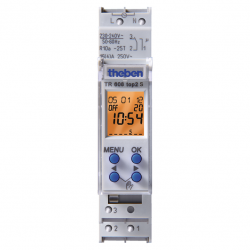 Timeguard TR 608 top2 S 24 Hour/7 Day Single Channel [1 Module] 16A Digital Timeswitch